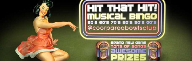 HIT that HIT – Musical Bingo