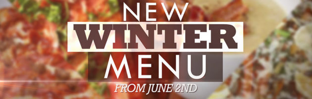 New Winter Menu 2016