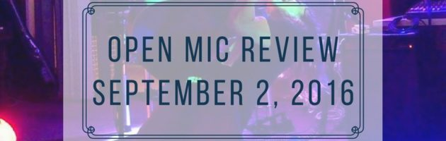 Open Mic @ Coorparoo Bowls Club  – 2nd September Review